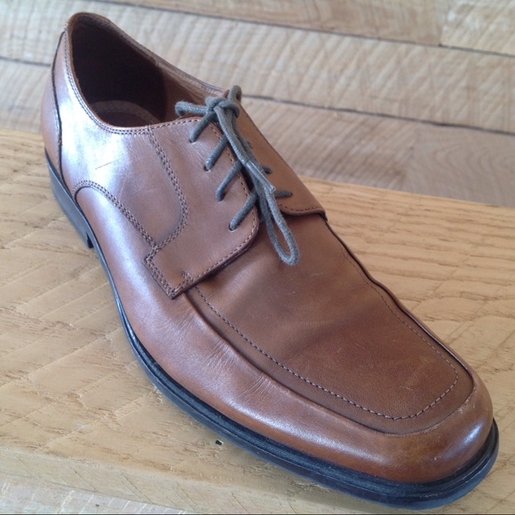 127645d7571f7 Aston Grey Other - Men 8 Brown Leather Lace Oxford Ashton Grey Shoes